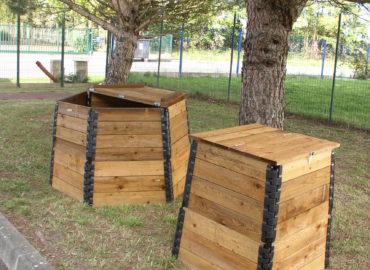 Compostadoras de madera Vermican