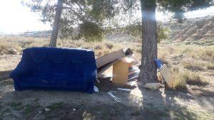 Residuos abandonados, el Plan Local de Residuos de Villena redactado por Vermican, evitará esta situación