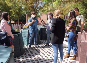 Rueda de prensa Vermican zona compostaje comunitario Ciempozuelos
